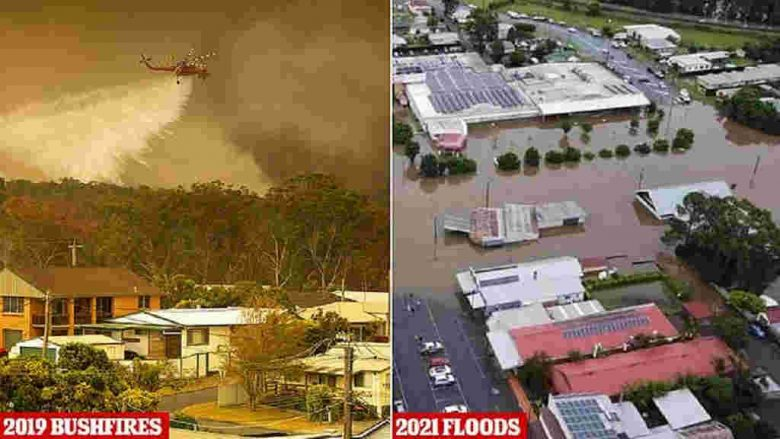 Once-in-a-century rains flood parts of NSW Australia, including Port Macquarie