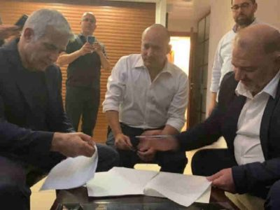 Netanyahu is out: Lapid and Bennett secure a deal to form the next government