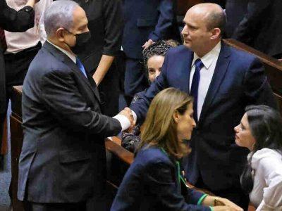 Naftali Bennett, the new prime minister of Israel, prays a remarkable prayer to God
